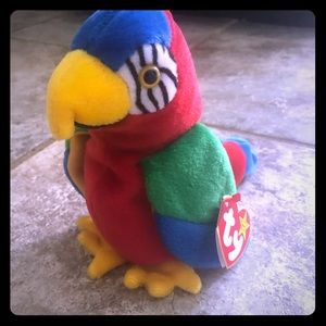 Jabber The Parrot Ty Beanie Baby